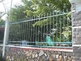 Mẫu Hàng rào sắt SV2182